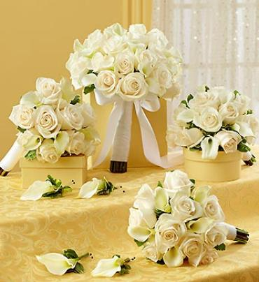 Bridal Party Personal Package White