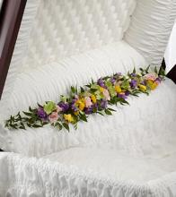 The Trail of Flower Casket Adornment