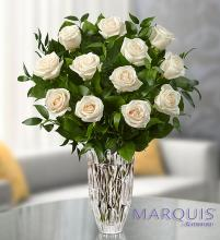 Marquis by Waterford White Roses for Sympathy
