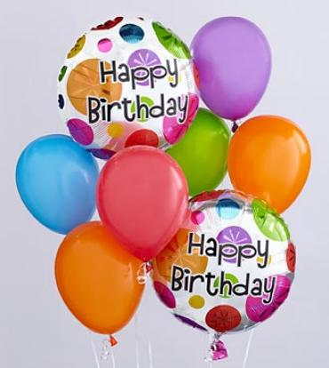 The Birthday Balloon Bunch