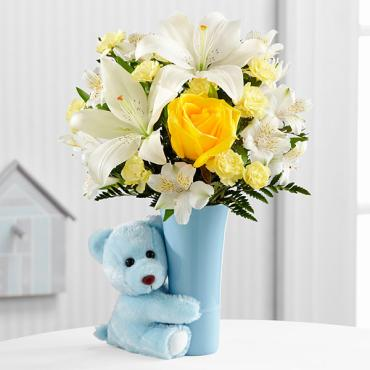 The Baby Boy Big Hug® Bouquet