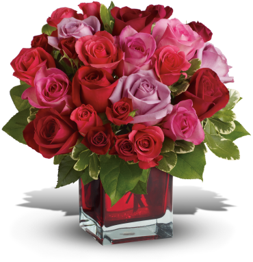 Madly in Love Bouquet with Red Roses